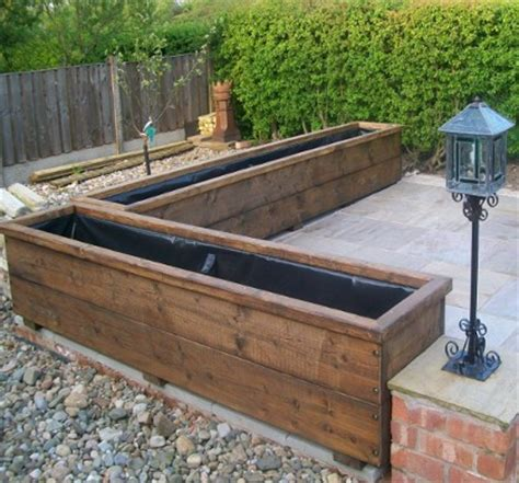 large wooden planters large wooden planters custom sizes