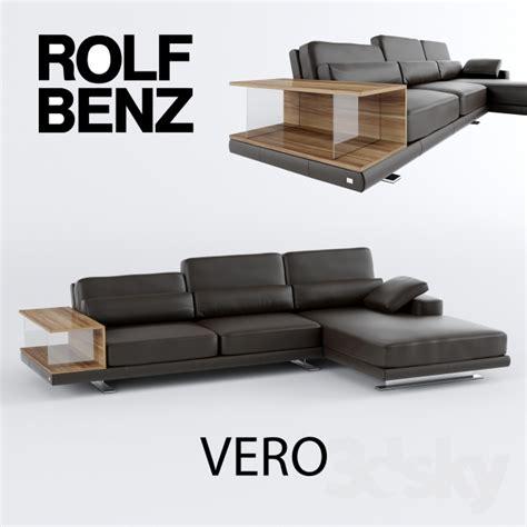 3d models sofa rolf benz vero