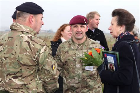prince william of gloucester barracks princess plants last tree at army s new wood gov uk