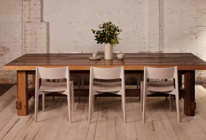 Rustic Dining Table Sydney Coopers Store Est 1985