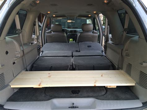 14 diy cargo shelf for chevy trailblazer robmcbryde