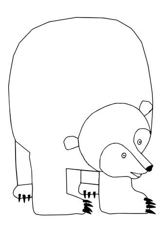 Printable Version Of Brown Bear Brown Bear | brown bear brown bear what do you see coloring page