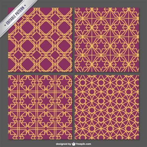 pattern arabian arabian editable pattern vector free download