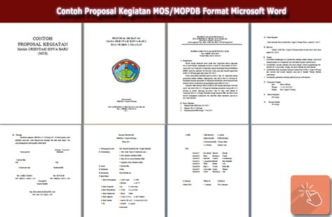 contoh format proposal business plan contoh proposal kegiatan mos mopdb format microsoft word