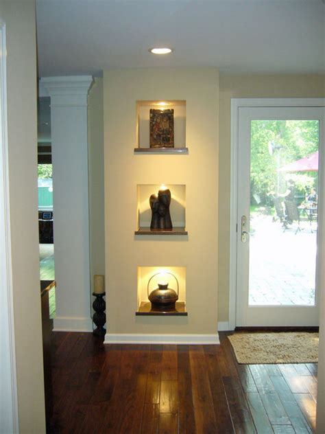 wall niche ideas tips    decorate  homesfeed