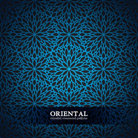 oriental pattern vector free download oriental ornament pattern vector material vector