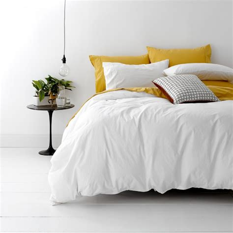 european king bed european vintage wash cotton quilt cover set white super