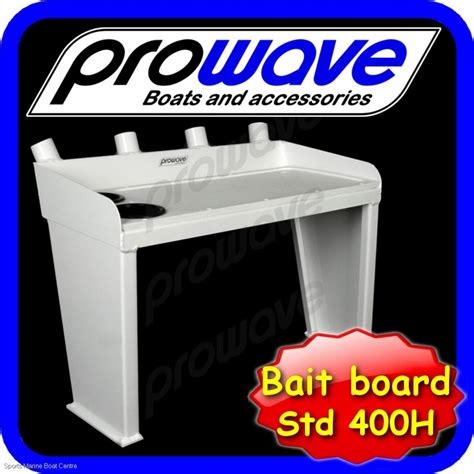 proline boats price list proline bait board with 4 rod holders and 2 drink holders