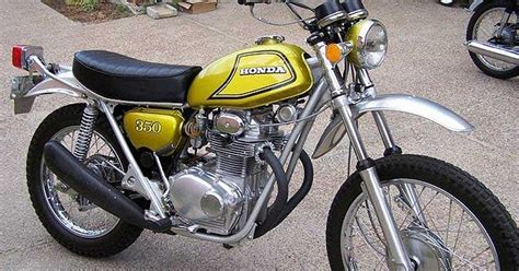 honda sl350 motorcycle complete wiring diagram all about