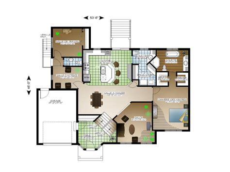 Maison Ideale Plan by Plan De Maison Et Ou Plan De R 233 Novation De Type 192 Palier