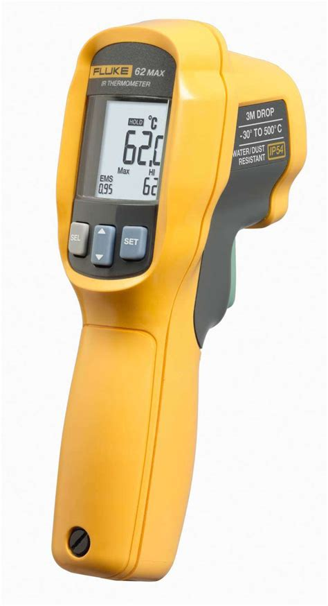 Infrared Thermometer Fluke 62 Max fluke 62 max ir thermometer uses dual lasers edn
