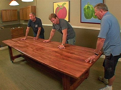 Make A Table For Your How To Build A Dinner Table How Tos Diy