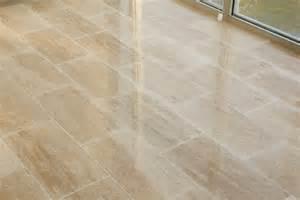 kesir travertine tile polished beige standard vein cut