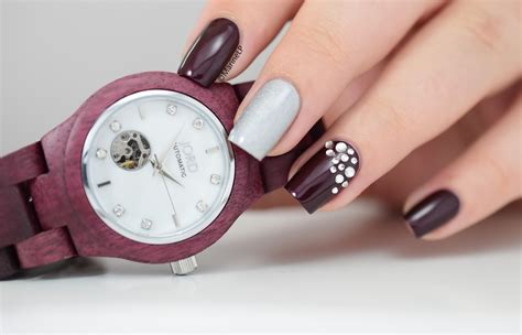 Ongles Décorés Vernis by Purpleheart Of Pearl Jord Woodwatch Cora