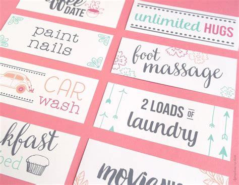 coupon making template free printable s day coupons free printable