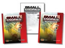 small engines  textbook workbook instructors guide featuring briggs  stratton