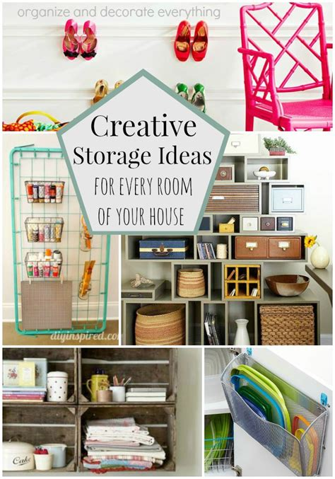 creative storage ideas creative storage ideas for every room of your house