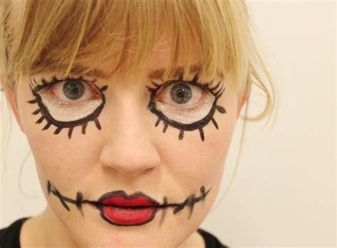 rag doll makeup my scary rag doll make up
