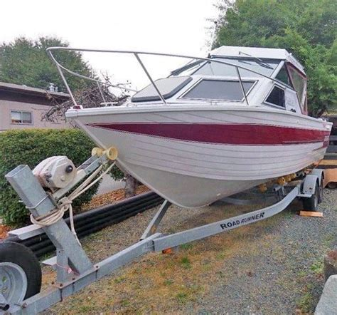 aluminum boats for sale duncan bc 1993 crestliner sabre 225 power boat for sale www