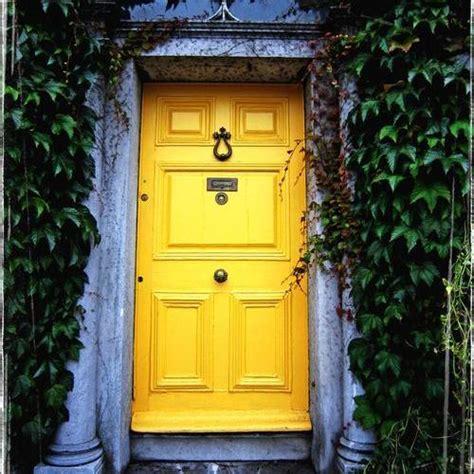 mustard front door yellow door story yellowdoorstory