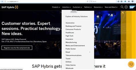 sap hybris tutorial sap hybris introduction