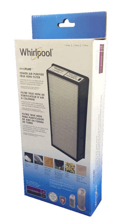 whirlpool  hepa filter tower air purifier atomic