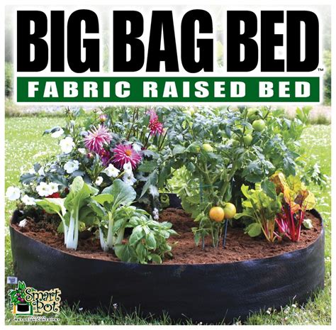 big bag bed smart pot big bag bed garden variety organics