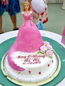 barbie doll birthday cake images a birthday cake