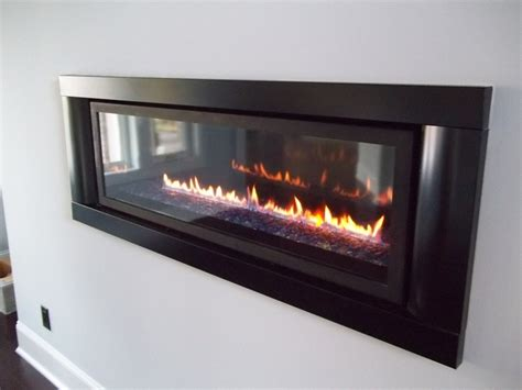 Napoleon Lhd45 Linear Gas Fireplace by Napoleon Lhd45 In A Uncluttered Wall Places Of