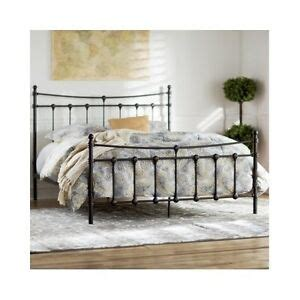 Rustic Metal Bed Frames by Size Bed Frame Metal Headboard Footboard Rustic