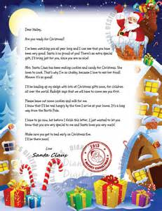 items similar to personalized letter from santa claus