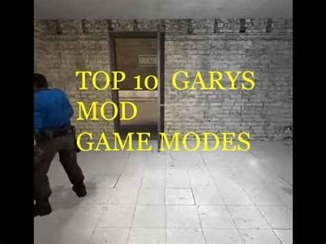 best garry s mod game modes top 10 garry s mod game modes youtube