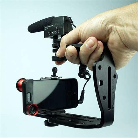 Best Tripod Handycam Kamera Dslrdigital Smartphone brushed aluminum tripod mount for iphone 6 6 plus more