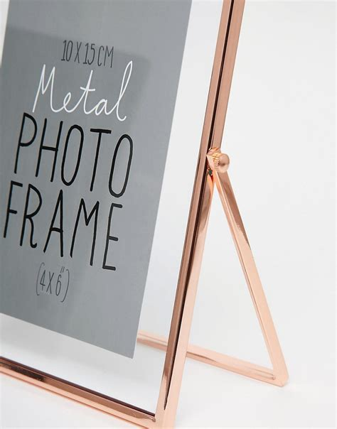 Paperchase Copper Photo Frame 4x6 paperchase paperchase copper photo frame 4x6 at asos