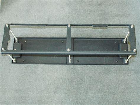 battery tray for boat dual aluminum battery tray