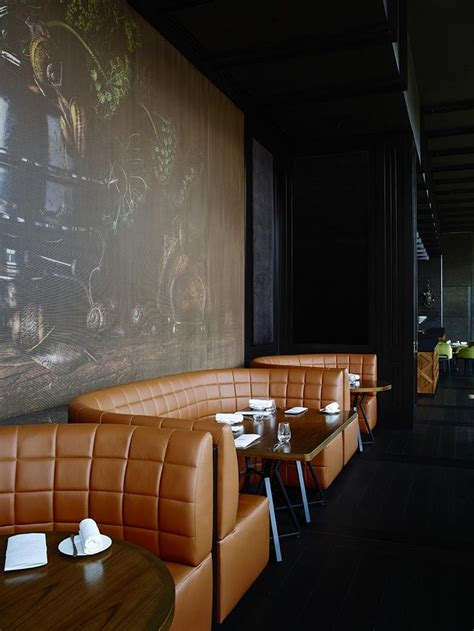 restaurant bench seating design dinner by heston blumenthal bates smart hotels