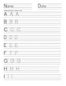 handwriting templates writing worksheets for activity shelter