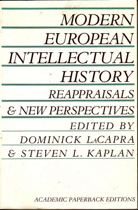 european intellectual history from modern european intellectual history reappraisals new perspectives robinson street books