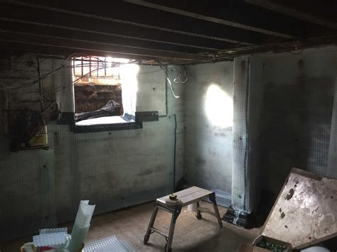 basement conversion to end terrace in leeds