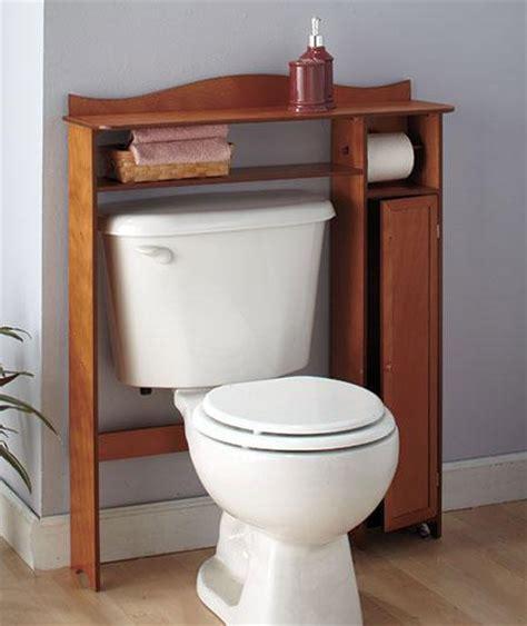 bathroom wooden the toilet table shelf storage white