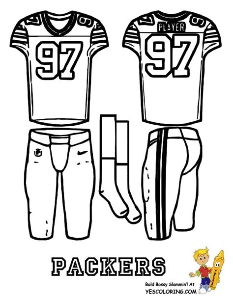 teachers green bay packers logo coloring page free
