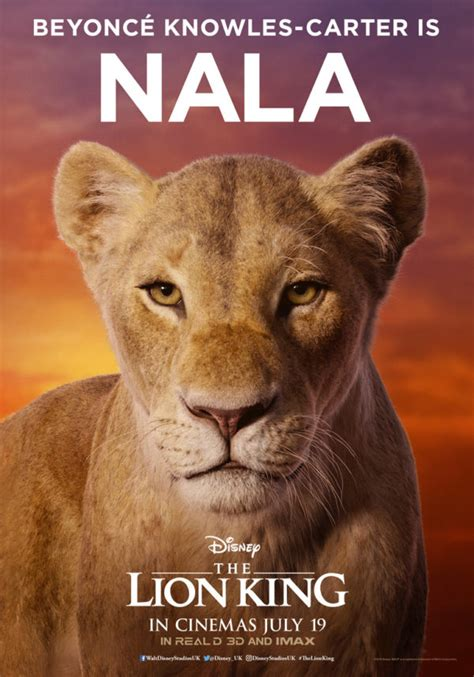 disneys  lion king   character posters