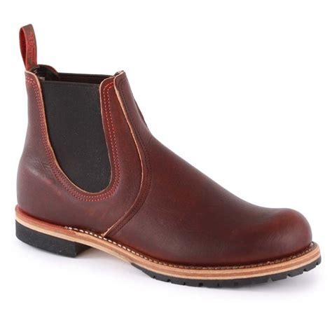 mens brown chelsea boot wing chelsea boot mens chelsea boot in brown