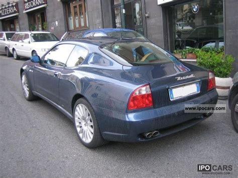 2004 maserati coupe gt 2004 maserati coupe coupe 4 2 v8 32v gt car photo and specs