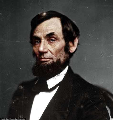 what color was abraham lincoln amazing civil war photographs created by colorist bring