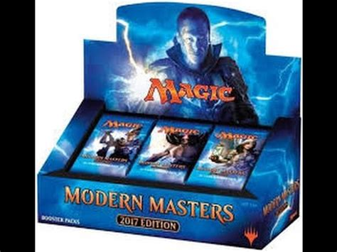 Mtg Booster Box Giveaway - mtg modern masters 2017 booster box opening w free pack giveaway 4 can i get a