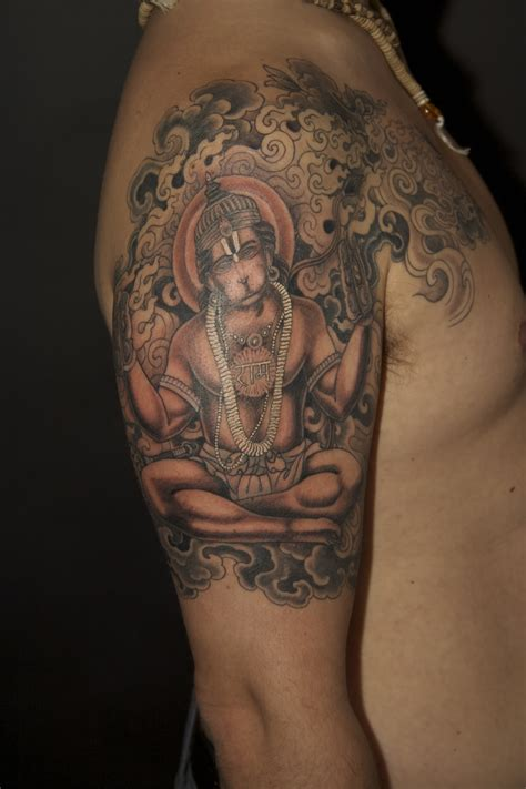 hanuman tattoo designs religious tattoos hanuman