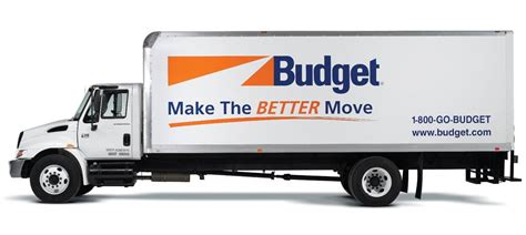 moving trucks for rent budget truck rental bensalem pa millevois tire and auto