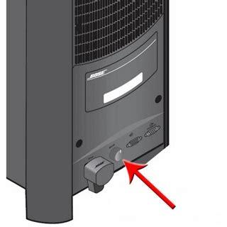 acoustimass module bass control