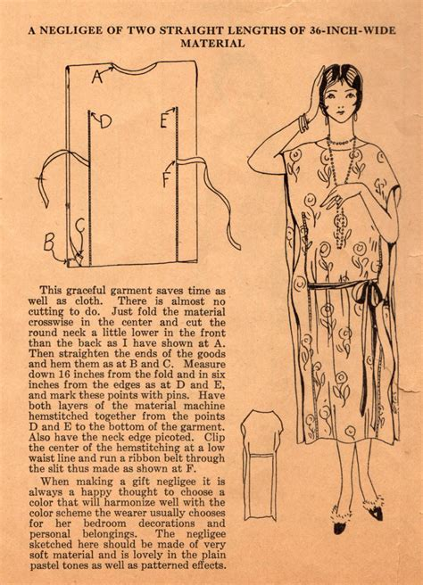 the midvale cottage post home sewing tips from the 1920s